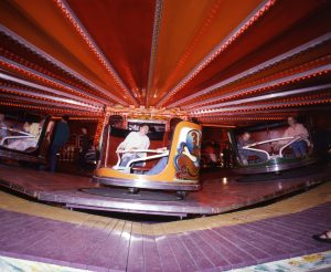 Figure 4: Waltzer riders, 1984, photograph by author