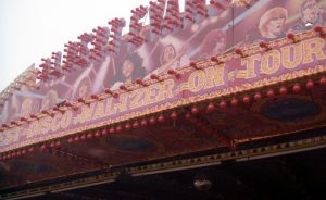 Figure 6: Albert Evans' Waltzer canopy detail with Donna Summer, King's Lynn Mart 1984, photograph by author